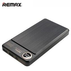 Remax 20000 мАч Внешний аккумулятор Двойной USB ЖК-дисплей Портативный внешний аккумулятор зарядное устройство для iPhone XS Xiaomi Samsung Huawei Powerbank