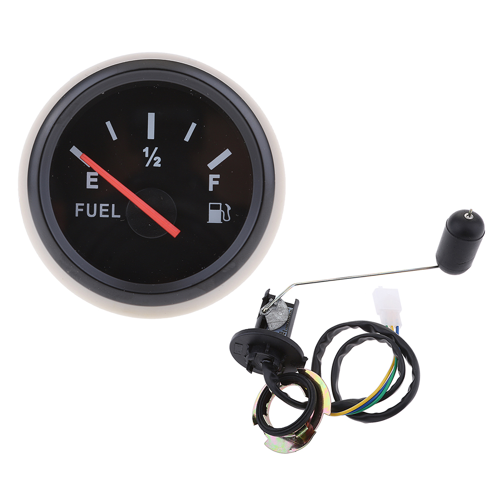 2'/52mm 12V Car Boat Fuel Level Gauge Meter Fuel Sensor Sender Universal Kit Indicador Combustible Jauge De Carburant