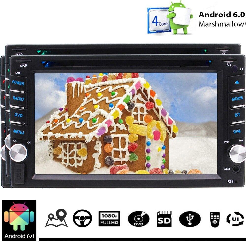 Écran tactile capacitif Quad Core unité de tête Support DVD WIFI 4G GPS Navigation Bluetooth appel mains libres micro externe Con à distance