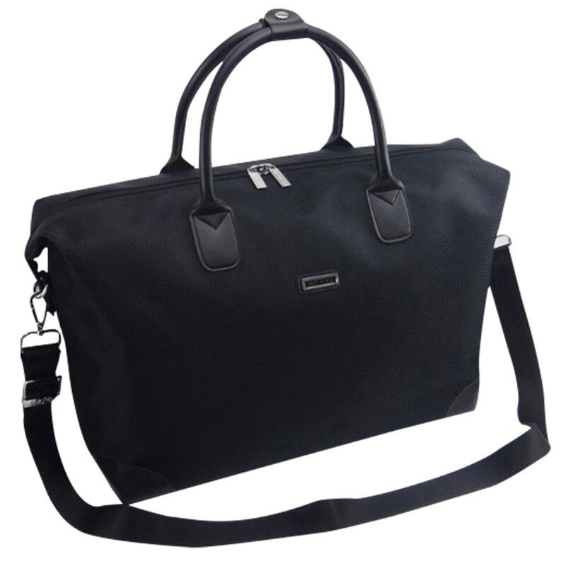 Travel Bag Men Oxford  Waterproof Large Capacity Black Weekender Bag Fashion Luggage Duffle Bag Packing Cubes Man X094