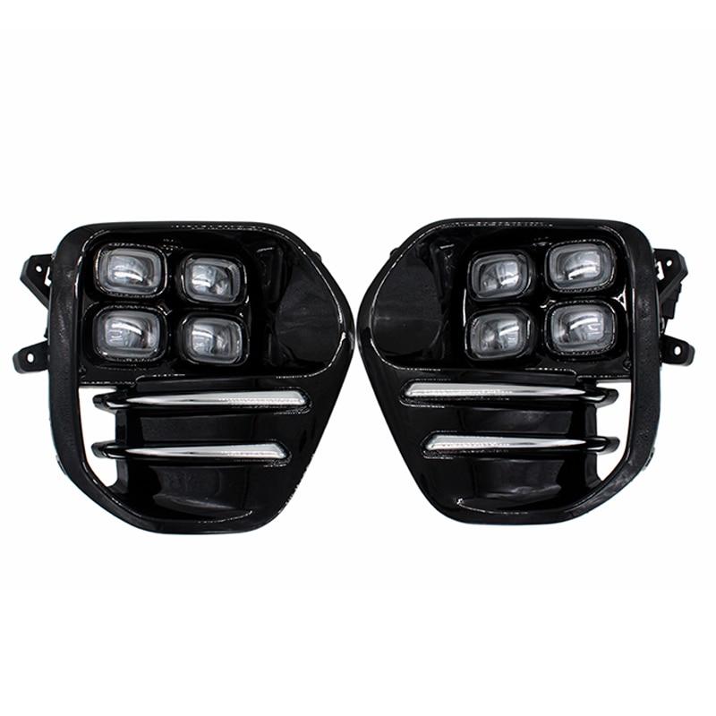 2 pz/set di Alta Auto Luminosa del LED Daytime Corsa e Jogging Lampada Della Luce di Nebbia DRL per KIA Sportage KX5 2016 2017