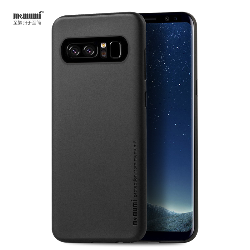 memumi 0 3mm Thin Case for Samsung Galaxy Note8 Anti fingerprint Case for Galaxy Note8 U