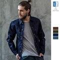 OLDSAINTS Джинсы Куртка Мужчины Хлопок Джинсовые Куртки для Мужчин Верхняя Одежда Пальто Мужской Моды Ковбой Короткая Куртка Brand Clothing 038-2-33