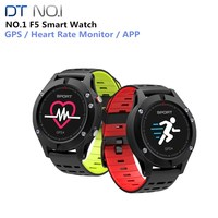 NO.1 F5 Smart Watch IP67 Heart Rate Monitor GPS Multi Sport Mode OLED Altimeter Bluetooth Fitness Tracker Android iOS waterproof