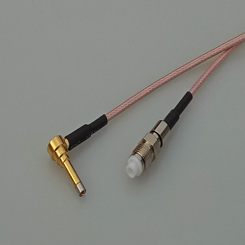 15cm 6 RF coaxial cable pigtail connector FME female jack to MS156 adapter