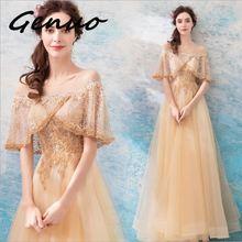 Genuo Fast Shipping 2019 Sexy v-neck sleeveless maxi dress Women Mesh Dresses FemaleElegant Maxi Bodycon Party Dress