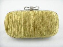 1476 GOLD Satin Hochzeit Braut Party-nacht handtasche-abend geldbörse fall handtasche IN KOSTENLOSER VERSAND