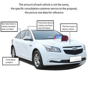 Image 5 - כפול D סוג גומי חותם 25M עמיד למים רעש בידוד רכב דלת גומי חותם אנטי אבק איטום רצועות רכב סטיילינג דלת חותם