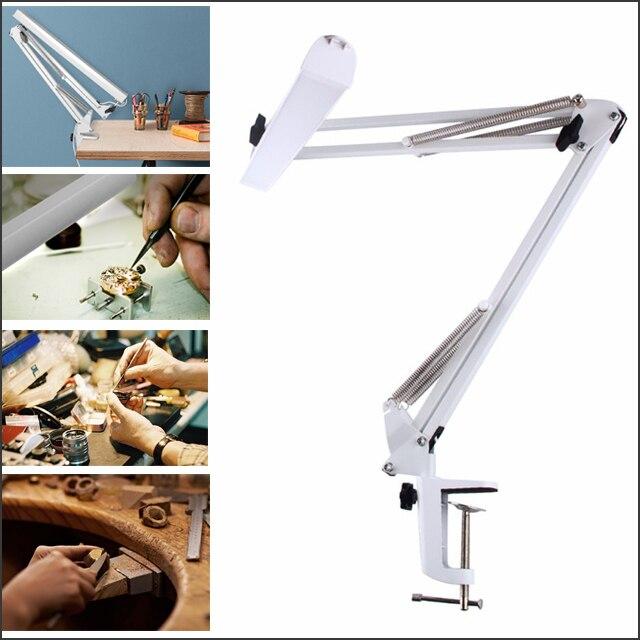 USB כוח משרד LED שולחן מנורת גמיש Led שולחן מנורת קריאת Led אור 3-רמת בהירות מחקר מנורת שולחן