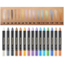 1pc  H ighlighter Long-lasting Waterproof E yeshadow Pencil Glitter Portable 2017