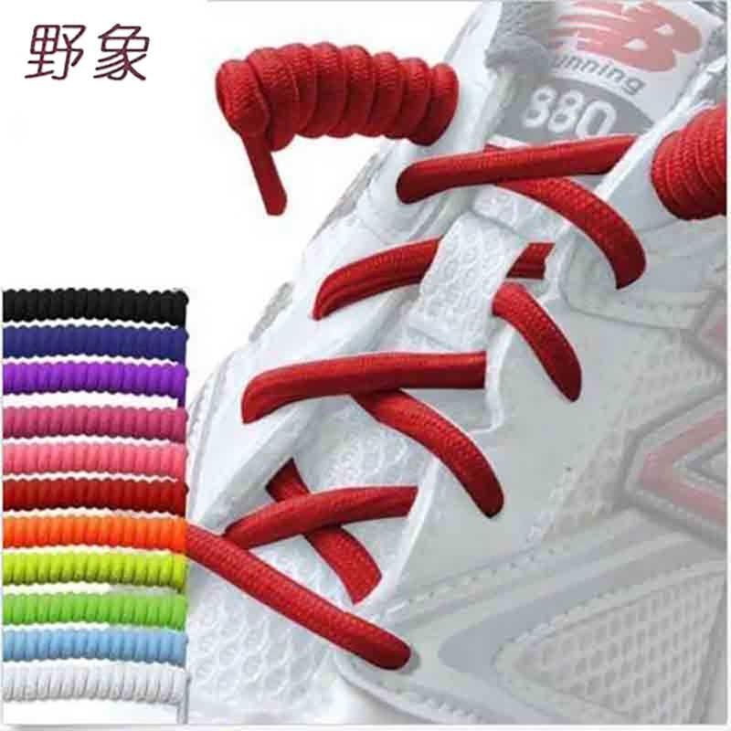 สูงยืดหยุ่นขี้เกียจs hoelacesไม่มีผูกเชือกผูกรองเท้าซิลิโคนรองเท้าแข็งปักสำหรับผู้หญิงเด็กผู้ชายรองเท้ายางs hoelaces
