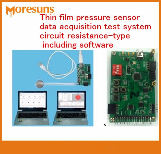 Fast Free Ship Custom made Thin film pressure sensor data acquisition test system circuit resistance type including software