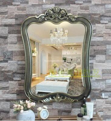 Bathroom mirror. Toilet makeup mirror. Bath half mirror. Beauty salon toilet mirror