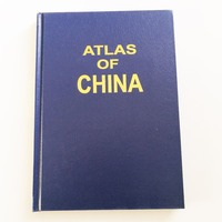Atlas of China English Version Hardcover 2001 English Map of China All Chinese Provinces' Maps
