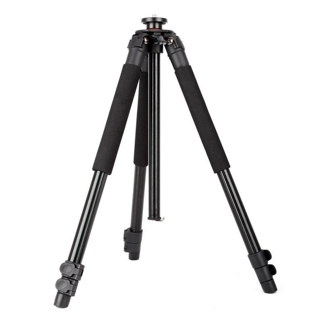 Profesional fotográfico portátil plegable telescópico antideslizante 44cm Cámara fotografía 3 secciones trípode - 4