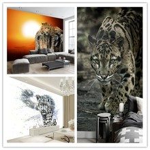 Custom Canvas Art Tiger Poster Animal Aquarium Fish Tank Shark Wall Leopard Lion Paintting Wallpaper Mural Bedroom Decor