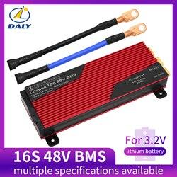 Daly 3,2 V LifePo4 16S 48V 80A 100A 120A 150A 18650 BMS плата защиты батареи со сбалансированным литиевым модулем батареи