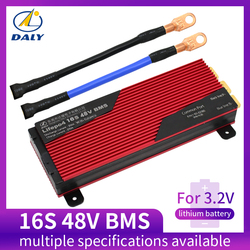 Daly 3.2V LifePo4 16S 48V 80A 100A 120A 150A 18650 Bms Batterij Bescherming Boord Met Gebalanceerde Lithium-Ion lithium Batterij Module