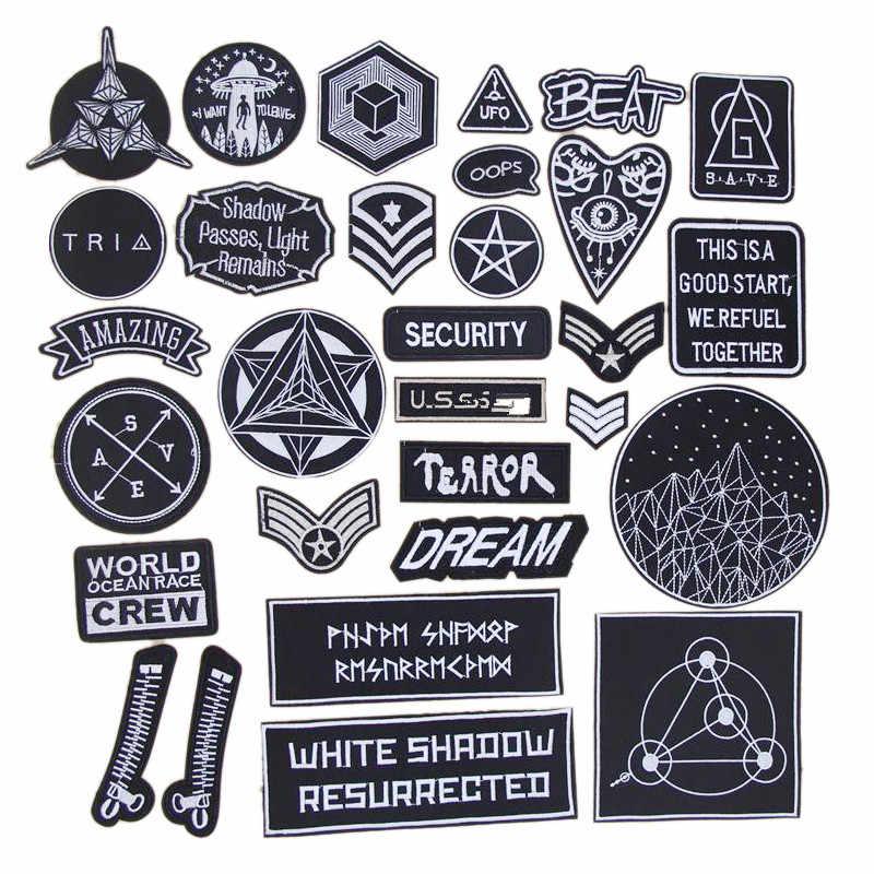 1 pz esercito di Space distintivo Ricamato ferro sulle zone abbigliamento in tessuto sacchetto della maglietta Dei Jeans Cappotto di riparazione del telefono decor Applique