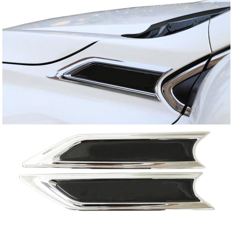 Humorous Car Stylingchrome Front Body Side Hood Emblem Trims For 2017 2018 Honda Crv 3d Sticker Modeling Automobiles & Motorcycles