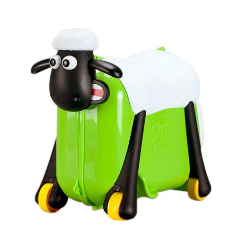 Child Suitcase Travel-Locker-Handbag Ride Girl Luggage Baby Toy-Box HOT Can-Sit Cars