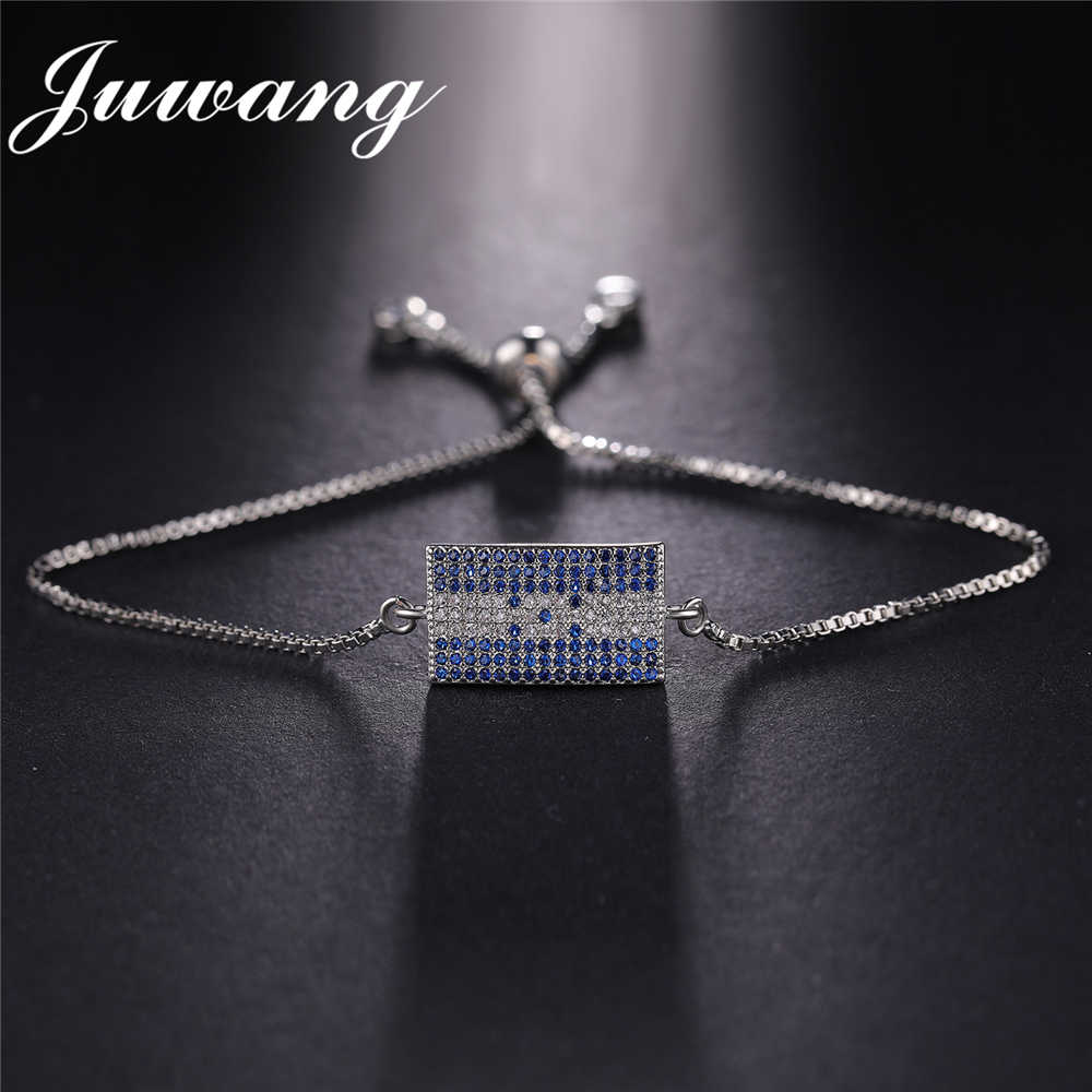 JUWANG Brand Honduras Bracelet Charm Love My Motherland Flag Jewelry Bracelets & Bangles for Woman and Man Wholesale