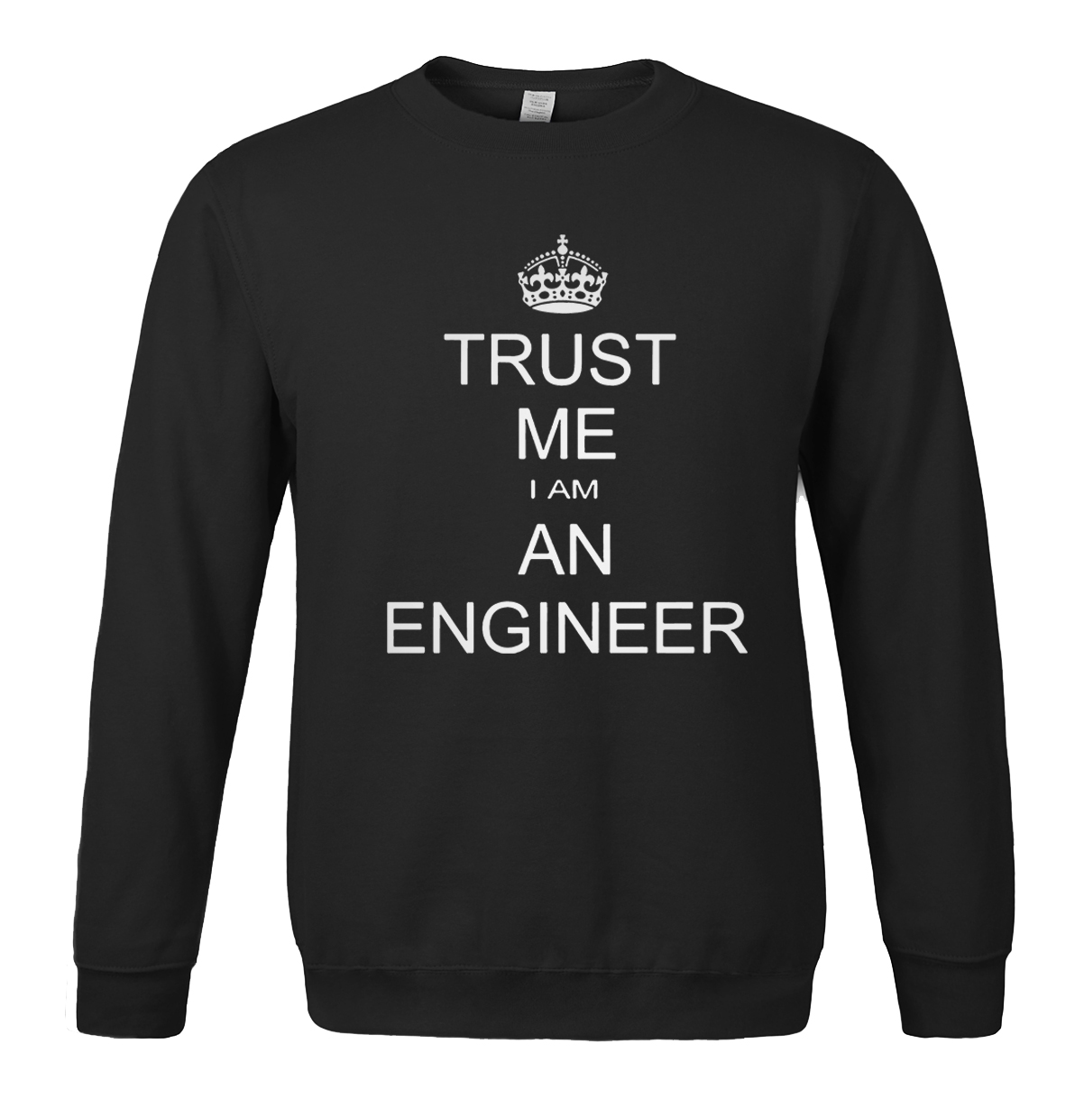 TRUST ME I AM AN ENGINEER printed letter 2018 mens sporstwear spring winter hoody fleece high quality sweatshirt tracksuits