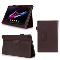 Case For Sony Xperia Z2 Tablet 10 1 Protective Pu Leather Skin Case Cover For Sony