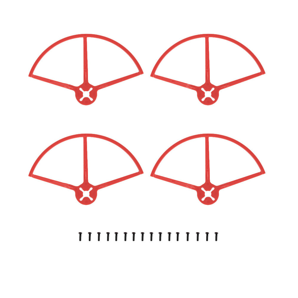 4pcs/set OCDAY 5 Prop Guard Protective Bumper Cover for 180 210 Racing Drone(many colour for choose) ...