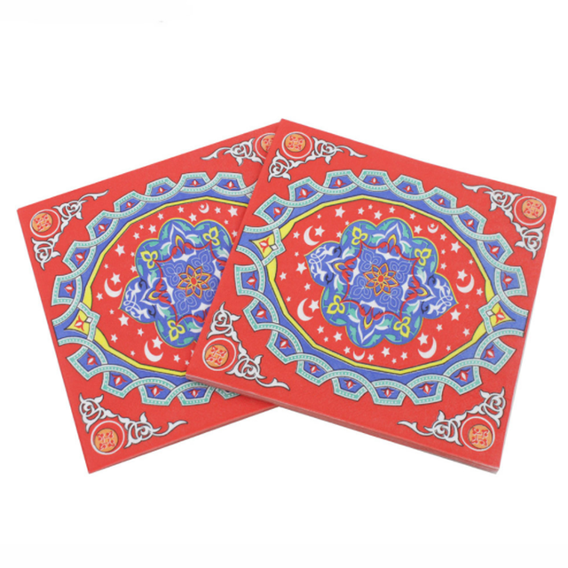 Simple Eid Party Eid Al-Fitr Decorations - 20-sheets-pack-Creative-New-Printed-Eid-al-Fitr-Ramadan-Paper-Napkin-For-Islamism-Muslem-Tissue  HD_184711 .jpg