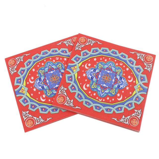 Simple Classroom Eid Al-Fitr Decorations - 20-sheets-pack-Creative-New-Printed-Eid-al-Fitr-Ramadan-Paper-Napkin-For-Islamism-Muslem-Tissue  You Should Have_195652 .jpg
