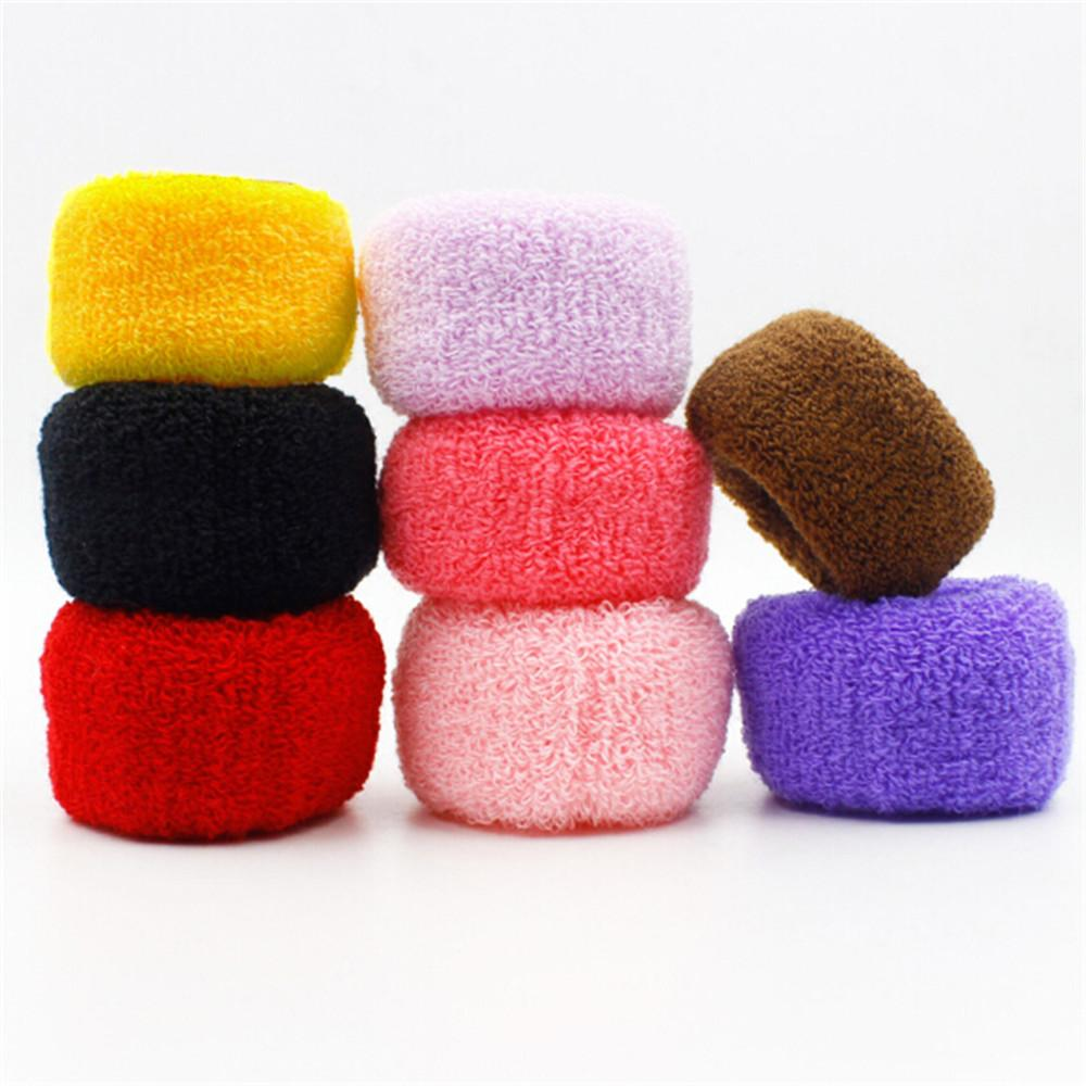 1Pcs 2019 New Women Big Wide Soft Rubber Bands Ponytail Hair Holders Elastic Accessories Tie Gum Fashion Free Shipping
