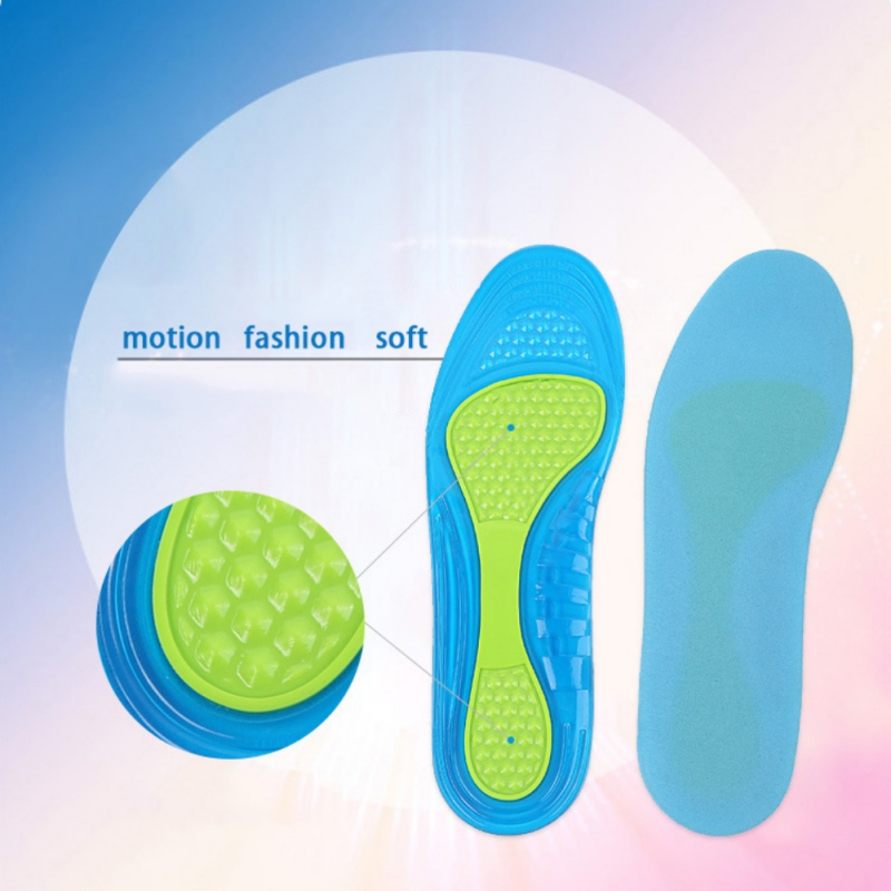 Absorbing Damping Soft Insole Can Repair Basketball Military Training Insole