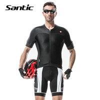 Santic D'été À Manches Courtes Vêtements de Cyclisme Vélo VTT Shirt Vélo Jersey Respirant Pro Racing Vélo Jersey Maillot Ciclismo