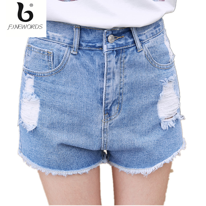 Popular High Waisted Denim Shorts-Buy Cheap High Waisted Denim ...