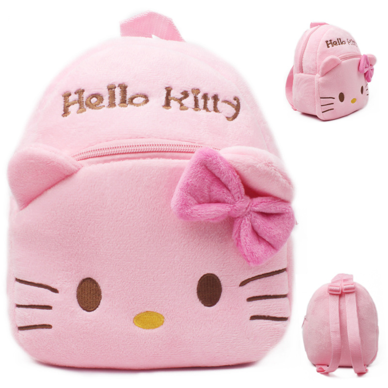 2018 New Cartoon Kids Cute Plush Backpack Mini