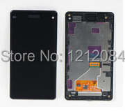 LCD Digitizer Touch Screen Display+ black Frame Assembly Replacement For Sony Xperia Z1 Compact Z1 mini M51W D5503 replacement