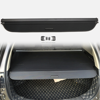 Car Styling Cargo Cover Security Shade Rear Trunk Luggage Parcel Shelf Cover Black For Honda HR V Vezel 2014 2015 2016 2017 2018