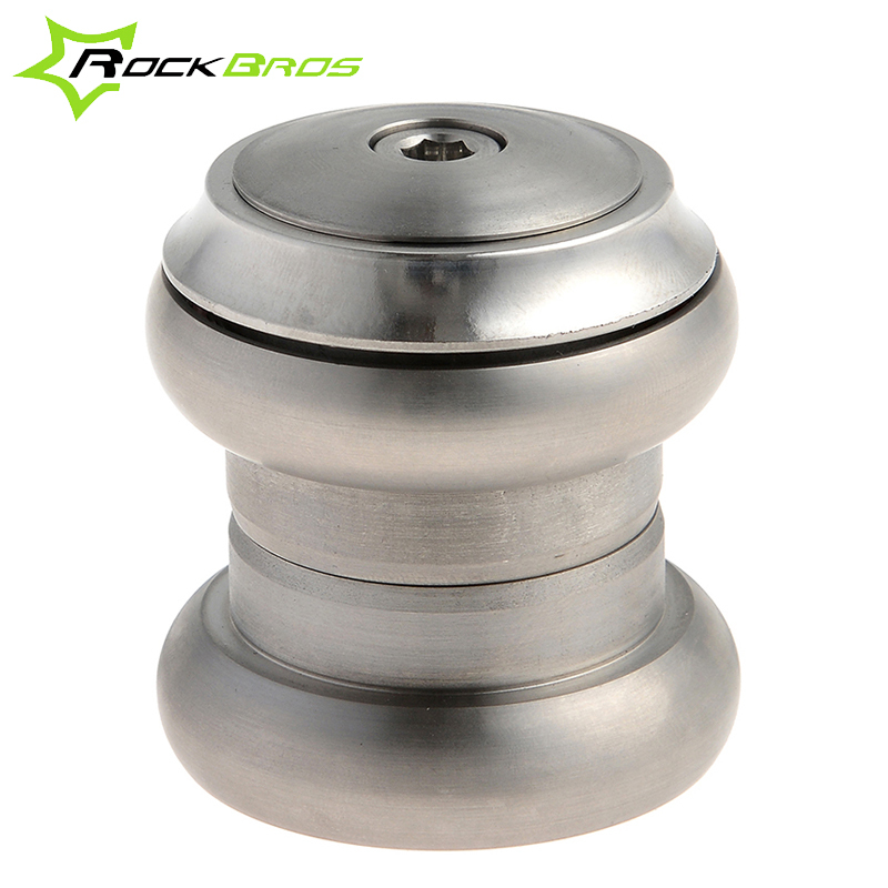 ROCKBROS MTB Mountain Bike Headset Titanium Alloy 6AI4V (Gr5) Threadless External Headset 1-1/8 28.6mm 34mm Bicycle Parts