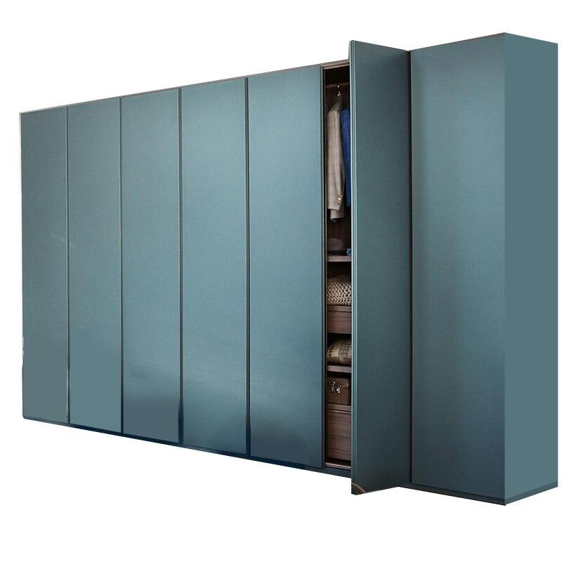 US $999.0  Modern design fancy bedroom furniture sliding door wooden  wardrobe-in Bedroom Sets from Furniture on AliExpress