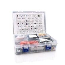 Kit de démarrage ultime avec capteur à ultrasons, carte R3, écran LCD1602 pour arduino R3 Mega2560 R3 Nano avec boîte en plastique