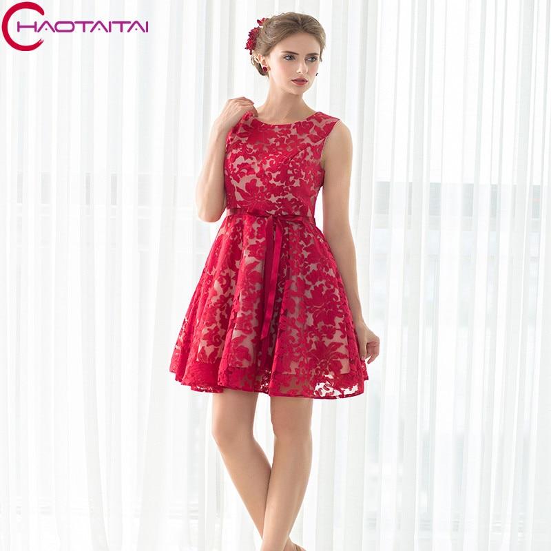 Bridesmaid Dresses Bridesmaid Gowns Cheap New Wine Red Short Mini O ...