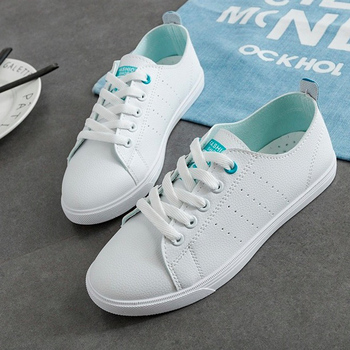 Women Vulcanized Shoes Casual Summer 2018 Spring Flats Fashion Breathable Vulcanization Lace-Up Sneakers