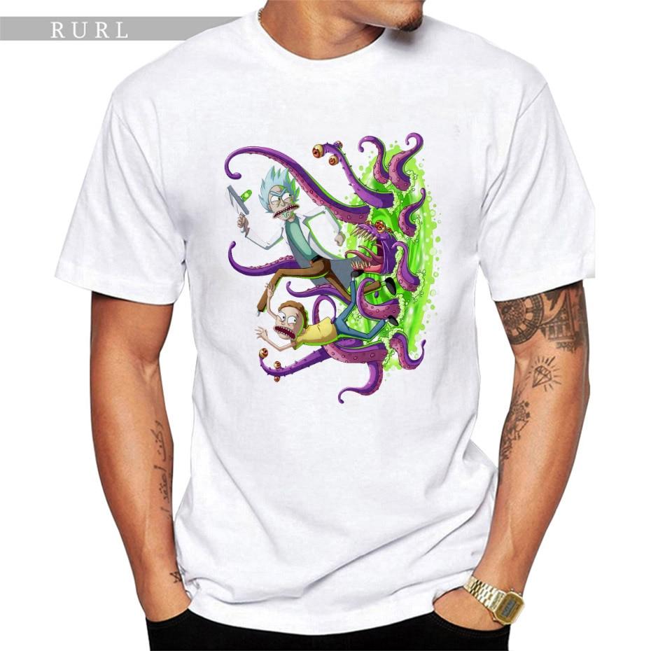 Piccolo Rick Ha Lasciato Fuori funy Uomo t-shirt manica corta casuale spedizione Rick top stampati Rick e Morty del fumetto t