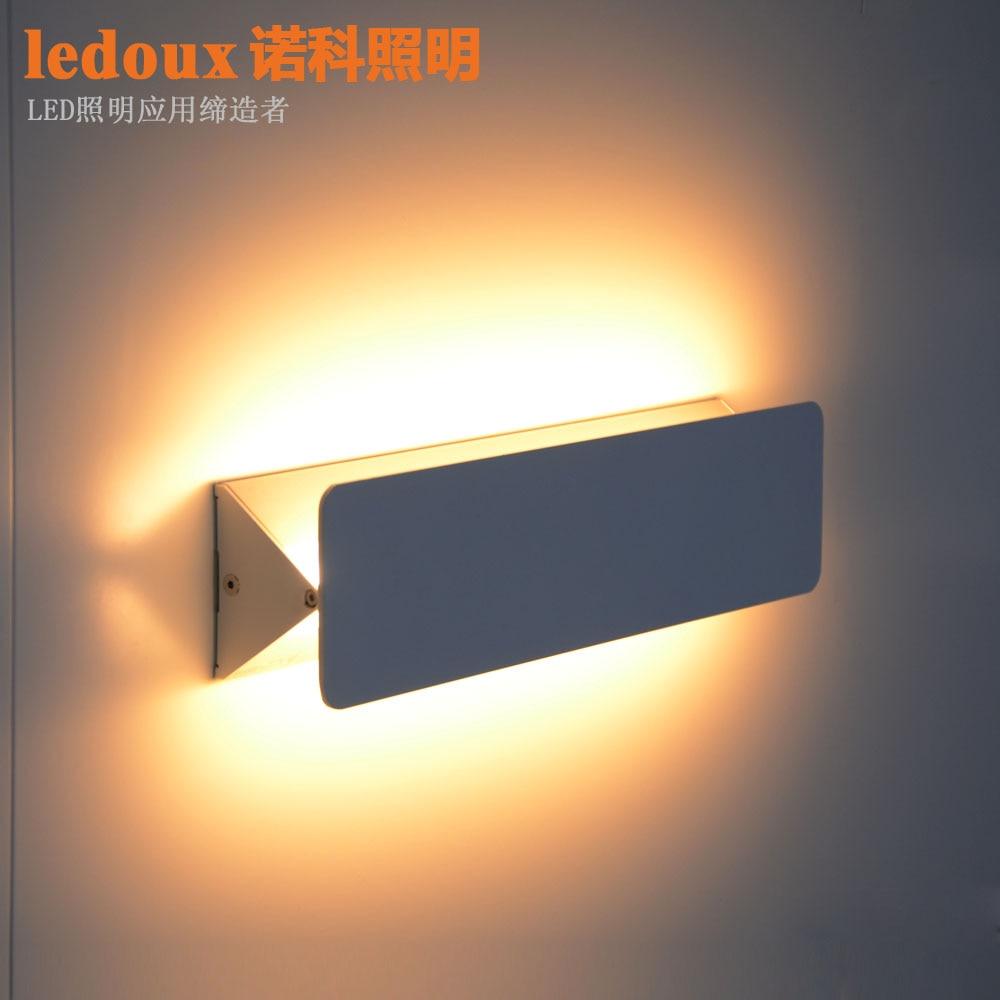 ФОТО Led wall lamp bed-lighting modern brief wall lights stair lamps