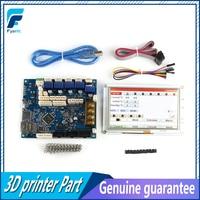Клон последняя версия Duet 2 Maestro Advanced 32 Bit плата электроники с 5 ''5 дюймов PanelDue 5i Интегрированный цветной сенсорный экран