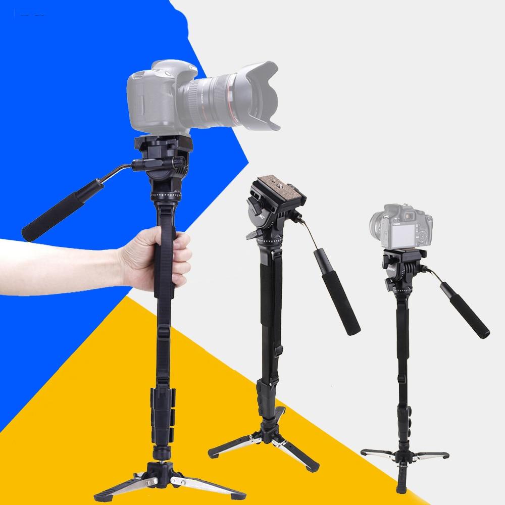Canon Nikon DSLR Kamera için Yunteng 288 Pro Fotoğraf Monopod - Kamera ve Fotoğraf - Fotoğraf 2