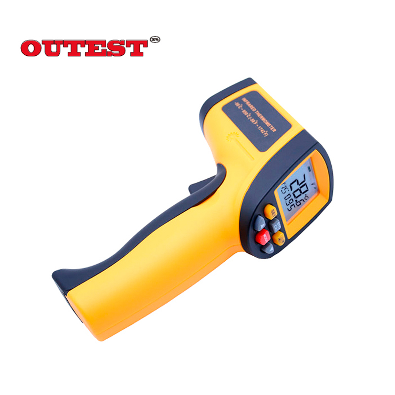 IR Infrared Thermometer GM900 Digital Temperature Meter -50~950C  Pyrometer 0.1~1EM Celsius  with Non-Contact LCD Termometre цена 2016