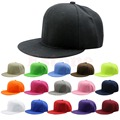 Baseball hat Cap Blank Plain Snapback Hats Unisex Men's Hip-Hop Adjustable B-boy Baseball Cap