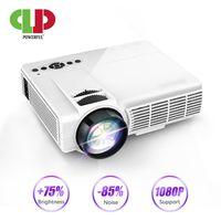 Мощный Q5 светодиодный проектор Android Full минипроектор HD 1080 P 800*480 разрешение домашний кинотеатр кинематографический проектор
